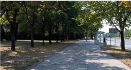 Ścieżką rowerową przez Kasprzaka nieco później