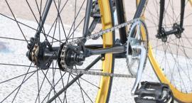 Koniec sezonu rowerowego w miasteczku na Woli